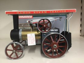 SOLD    Pre Owned Mamod Brass T/E 1AB  Brown wheels.